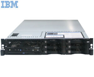 IBM server x3650, 3Ghz Intel CPU, 32 GB RAM, 260 GB HDD