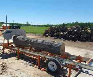 Portable Sawmilling services, right to your door!