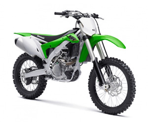 KAWASAKI KX 450F DEMO with only (5) hours.