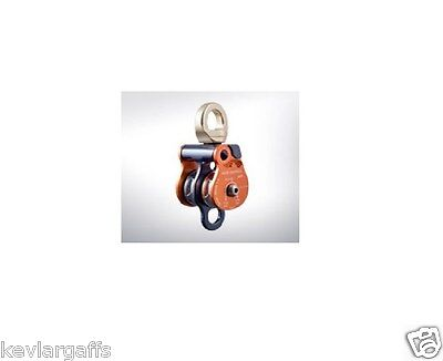 Rock Exotica 1.5 Pulley Twin Sheave Double Block For 12 Inch Rope