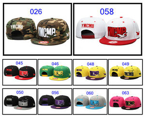 IN-box-YMCMB-Snapback-Hip-Hop-Hats-Rock-Cap-adjustable-Baseball-26-63