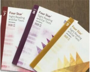 RCM Four Star Sight Reading and Ear Test 2015 (level 7-9)