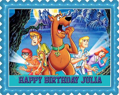 Scooby-Doo (Nr2) - Edible Cake Topper or Cupcake - Scooby Doo Cupcake Toppers