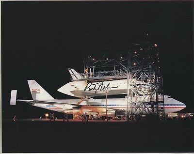 Shuttle Astronaut PINKY NELSON Signed Photo