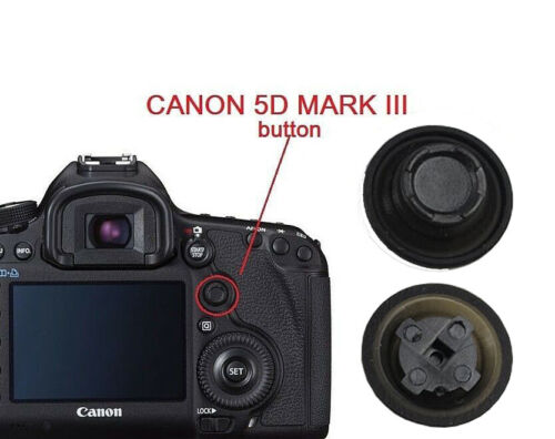 Multi-Controller Joystick Buttons Rubber For Canon EOS 5D Mark III Repair Parts