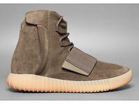 Adidas Yeezy Boost 750 Light brown Chocolate size 7.5 UK