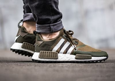 Adidas WM NMD Trail PK size 9. Olive. White Mountaineering. CG3647. ultra boost