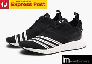 ADIDAS x WHITE MOUNTAINEERING NMD R2 PRIMEKNIT BLACK US 8 Perth Perth City Area Preview