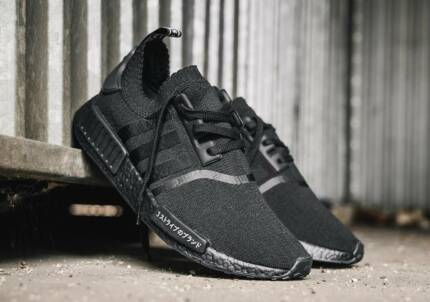 Adidas NMD Japan Triple Black US7.5