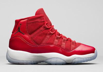 Nike Air Jordan Xi Retro 11 Win Like 96  Gym Red  378037 623 All Size 3C 14