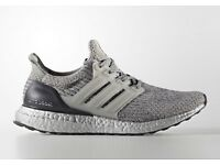"Adidas Ultra Boost Ltd Edition ""Silver Pack"" (UK12, US 12.5)"