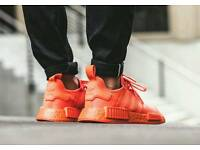 NMD R1 Solar Red Size 9 (Triple Red)