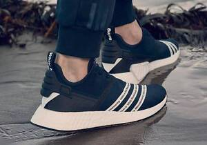 Adidas White Mountaineering NMD R2 Black US9.5 Perth Perth City Area Preview