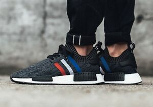 Tri color NMD prime knit - size 9.5/10
