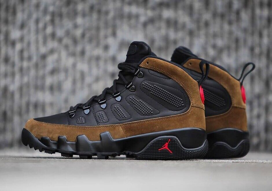 90b637a9b4741c Nike Air Jordan Retro 9 IX NRG Olive UK 10.5