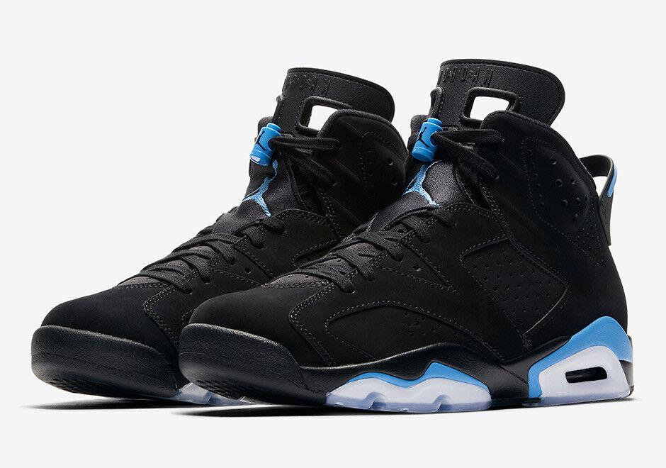 "Nike - AIR JORDAN 6 RETRO ""UNC"" 384664-006 Men's 384665-006 Youth's BRAND NEW SHIPS NOW"