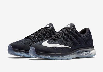 Authentic 241719 Nike Air Max Men White Black Shoes