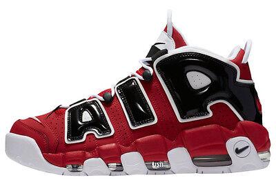 Nike Air More Uptempo Chicago Bulls Size 11. 921948-600 Jordan Pippen Kobe