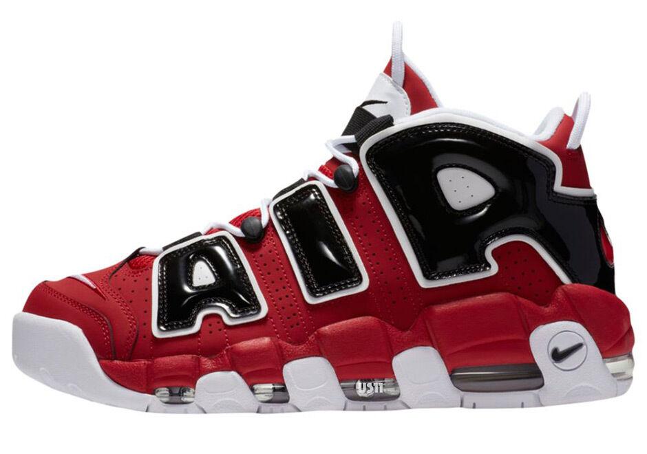 Nike Air More Uptempo Chicago Bulls Size 9. 921948-600 Jordan Pippen Kobe