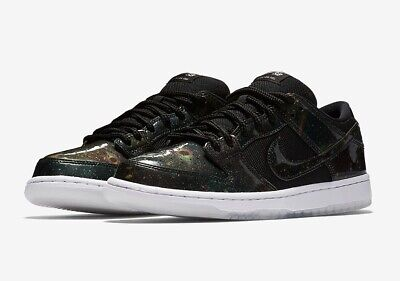 "07faed54f0 Nike SB Dunk Low TRD QS ""Galaxy"" Men's Size 12 BLACK/BLACK-WHITE 883232 001"