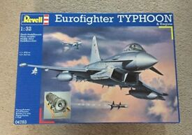 Revell Eurofighter Typhoon Model Kit with Paints