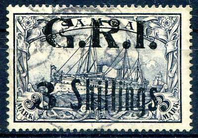 DT KOL SAMOA BRITISCHE BESETZUNG 12 gest sign KOSACK 1800€(Z0747
