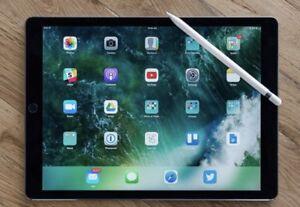 Ipad 12.9 Pro WiFi+Cell256GB-space gray+App Care+Pencil+Keyboard