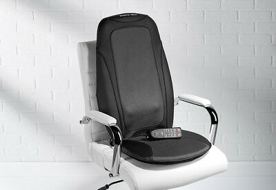 Sharper Image Shiatsu Massage Cushion With Heat For Chair Hf766