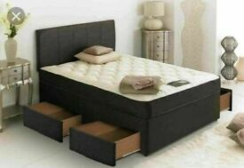 ⭐🆕BEST SALES SINGLE/DOUBLE/KINGSIZE DIVAN BED BASES ON SALE, CHOICE OF MATTRESSES AVAILABLE NOW!