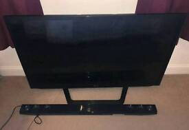 LG 42 inch led tv and soundbar