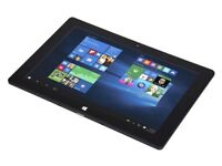Windows Touchscreen tablet 10 inch WI-FI Bluetooth USB HDMI Leather Wallet 32Gb SDcard Stand (New)