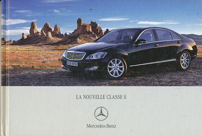 CATALOGUE VOITURE PUB. AUTO AD.CAR MERCEDES LA NOUVELLE GAMME S 2003 EN FRANCAIS
