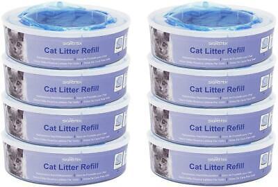 BEST Cat Litter Disposal System Refill Cassettes For Litter Locker II Pack Of