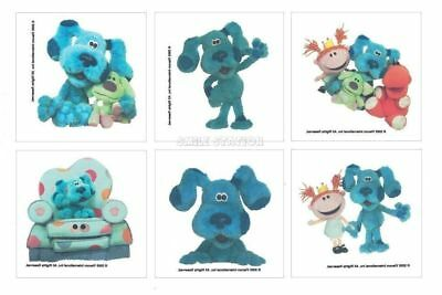 12 Blues Clues Temporary Tattoos Kid Birthday Party Goody Loot Bag Filler Favor ()