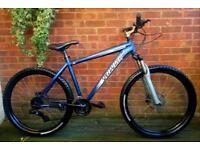 "Specialized hardrock bike,hydraulic brakes,26""wheels,24 speed,dual discbrakes"