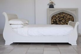 Brand new - MANOIR PAINTED Super King Size 6' BED IN COLUMBINE - RRP 4419.00