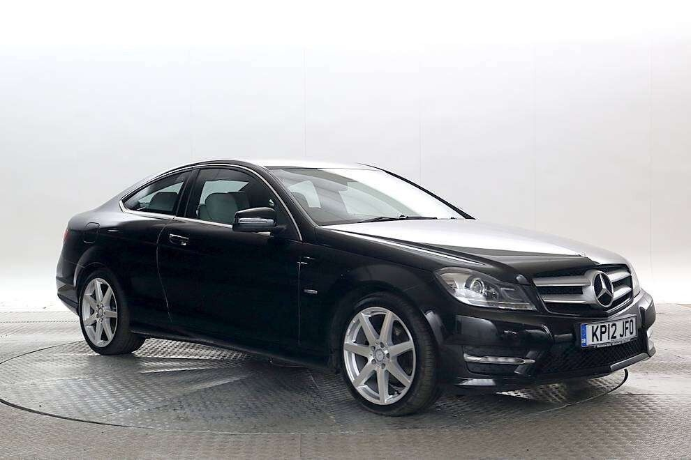 mercedes c220 coupe 2012 amg in heathrow london gumtree. Black Bedroom Furniture Sets. Home Design Ideas