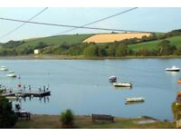 2 BEDROOM FIRST FLOOR APARTMENT WITH STUNNING VIEWS OF THE TEIFI ESTUARY