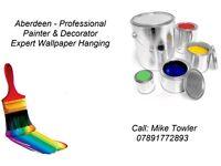 Professional Painter and Decorator. Expert wallpaper hanger