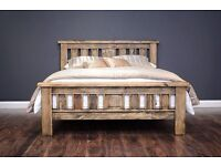 Brand new solid wood double beds. FREE DELIVERY WITHIN 10 MILES OF BELFAST!