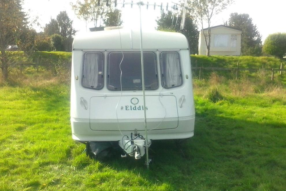 New 1999 Sterling Europa 5 Berth Caravan 2 Spare Wheels 2 Awnings A
