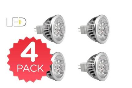 4 Pack Kogan LED Light Globe 4W MR16 Quakers Hill Blacktown Area Preview