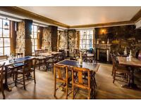 Bar tender/supervisor required for The King's Wark on the Shore