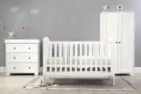 Mamas & Papas Harrow 3 Piece Nursery Furniture Set – White