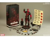 BRAND NEW (Unopened) Deadpool Sixth Scale Figure by Sideshow Collectibles