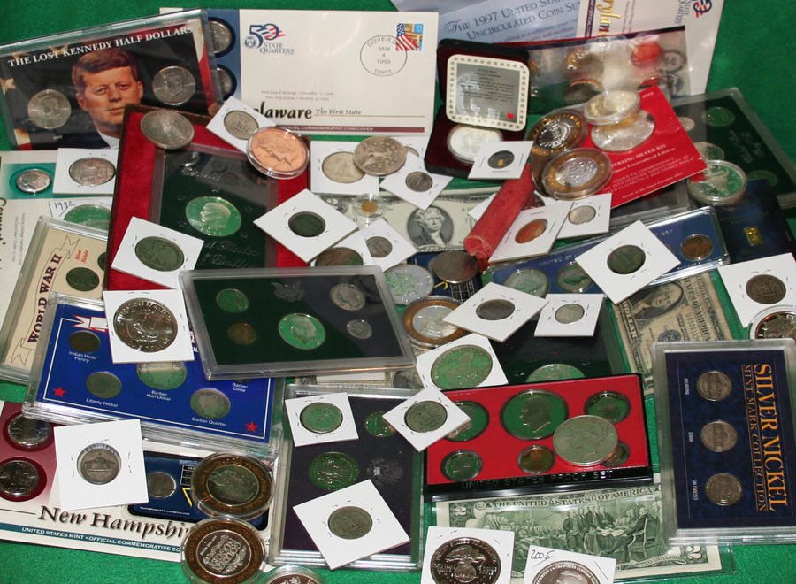 ESTATE LOT OF SILVER / CURRENCY / MINT SET/ PROOF SETS /Bullion / Silver COINS