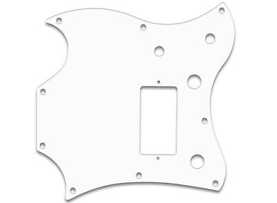 MELODY MAKER SG STYLE BWB 3 PLY PICKGUARD 1970-82 TWO PICKUPS f GIBSON® US MADE