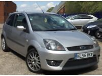 2006 FORD FIESTA 1.6 TDCI ZETEC S+1 PREVIOUS OWNER+FULL DEALER HISTORY+TIMING BELT REPLACED+£30 TAX!