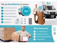 Removals throughout Cornwall and beyond including Man & Van and Rubbish Clearance