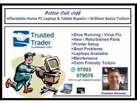Affordable Computer (PC/Laptop) Repairs Covering Bournemouth Christchurch Poole And Surrounding
